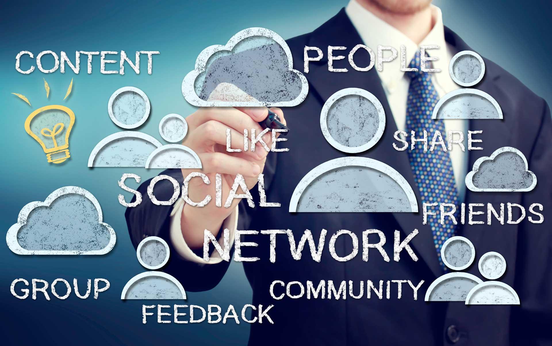 web internet social marketing azienda